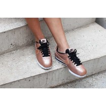Achat nike cortez femme rose gold site fiable 3011