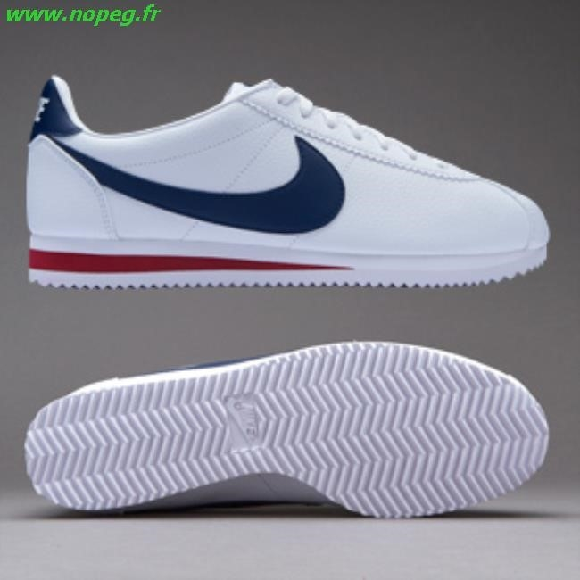 Soldes nike cortez homme blanche rouge site fiable 3543